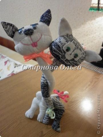 Этих котиков я подарю сыну и его девушке на День Влюблённых. фото 1