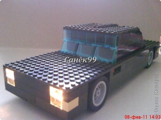 Сделал ещё одну модель из конструктора марки форд. фото 1