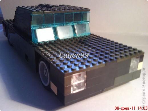 Сделал ещё одну модель из конструктора марки форд. фото 2