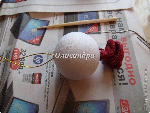 Сделала розовое дерево... https://stranamasterov.ru/node/144894 ...и так мне понравилось крутить розочки, что не могу остановиться... Это первый розовый шар..., по моей задумке их будет три...Результат покажу позже, т.к. последний шарик еще в проекте... фото 19