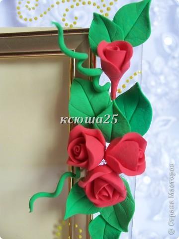 Вот такие рамочки были сделаны сегодня утром.Уже они нашли своего покупателя,чему я очень рада. Цветочки простенькие,но смотрятся очень даже красиво на рамочке.  фото 7