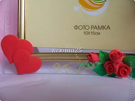 Вот такие рамочки были сделаны сегодня утром.Уже они нашли своего покупателя,чему я очень рада. Цветочки простенькие,но смотрятся очень даже красиво на рамочке.  фото 8