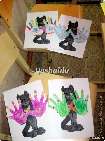 Котятки и перчатки фото 1