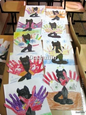 Котятки и перчатки фото 2