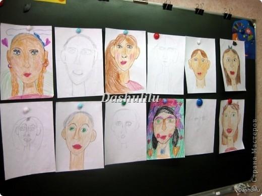 Учимся рисовать портрет фото 1