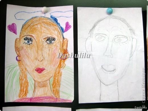 Учимся рисовать портрет фото 2
