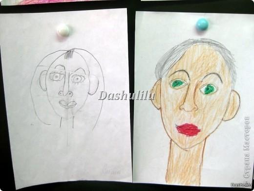 Учимся рисовать портрет фото 3