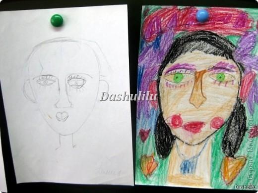 Учимся рисовать портрет фото 5