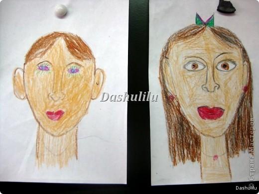 Учимся рисовать портрет фото 6