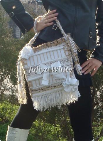 """ГОБЕЛЕН сумка """"White"""" фото 1"""