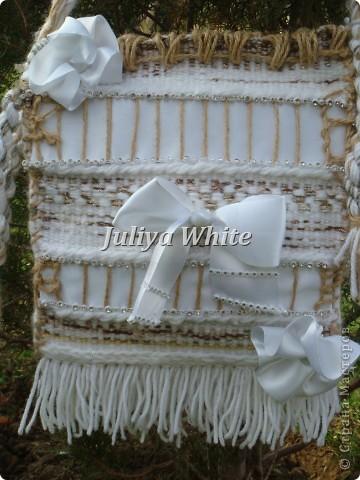 """ГОБЕЛЕН сумка """"White"""" фото 4"""