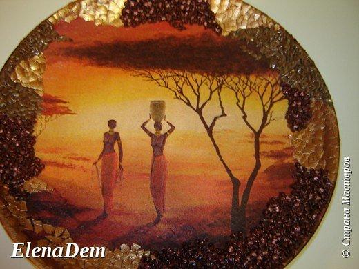 Африка тарелки фото 1