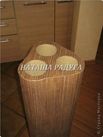 Напольная ваза с ивовыми ветками в прихожую. фото 7