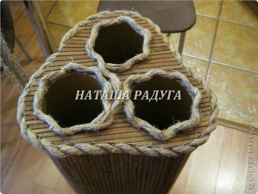 Напольная ваза с ивовыми ветками в прихожую. фото 8