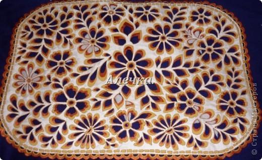 Салфетка с цветами фото 1