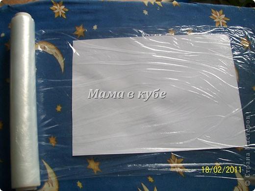 Идея не моя и не нова. Раньше мы такое делали с бумагой и полиэтиленовыми пакетами. Но вдруг кому то еще пригодится. фото 6