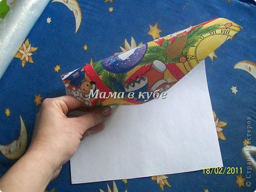 Идея не моя и не нова. Раньше мы такое делали с бумагой и полиэтиленовыми пакетами. Но вдруг кому то еще пригодится. фото 11