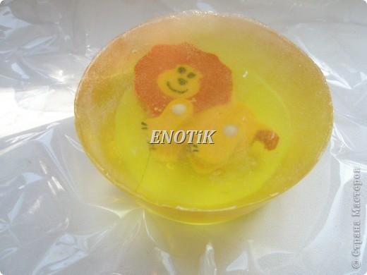 Мыло детское с игрушкой фото 1