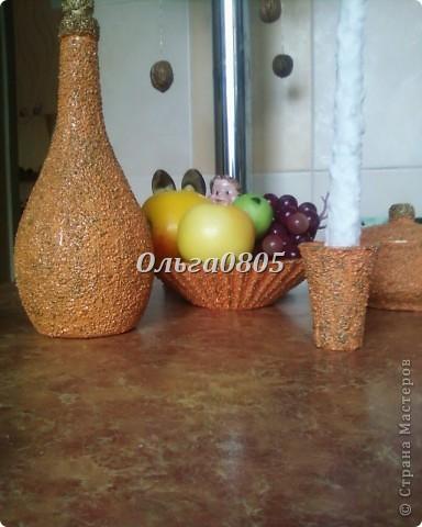 """Набор""""Оранжевое настроение"""",работа выполнена с применением крупы, клея ПВА, гуаши, лака. фото 5"""