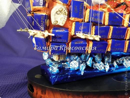 """Корабль создане из более килограмма и бутылки коньяка """"Тиса"""" фото 4"""
