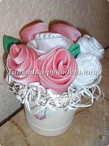 Розы в горшочке фото 1
