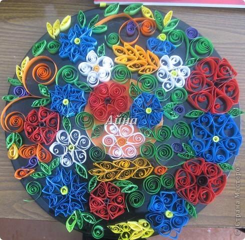 Коллективная работа Цветы Украины фото 1