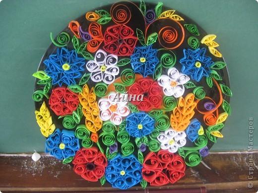 Коллективная работа Цветы Украины фото 2