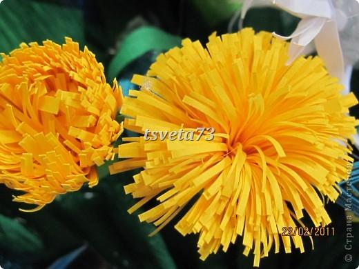 Всем (можно сказать) ВЕСЕННИЙ ПРИВЕТ!!!! В предвестие весны решила сделать весеннюю картинку в голубо-сине-желтых тонах, почему то я вижу в этих цветах весну.... и вот представляю такую композицию.... фото 6