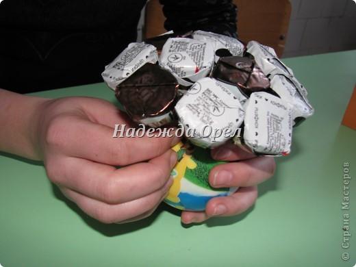 """Мы с моей ученицей Аленой (умницей, красавицей) делали конкурсную работу на тему """"Сувенир к Евро 2012"""" Надеюсь Вам пригодится.  фото 7"""