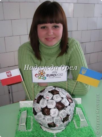 """Мы с моей ученицей Аленой (умницей, красавицей) делали конкурсную работу на тему """"Сувенир к Евро 2012"""" Надеюсь Вам пригодится.  фото 15"""