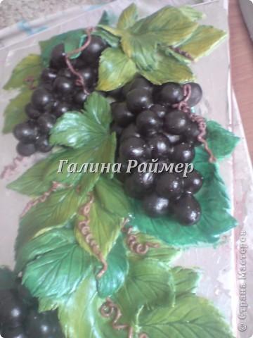 Виноград, в процессе работы фото 2