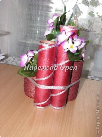 Карандашницы из бросового материала фото 2