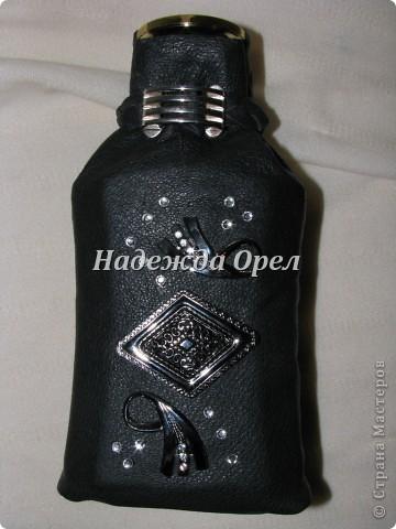 Мои новогодние бутылочки и букеты фото 12