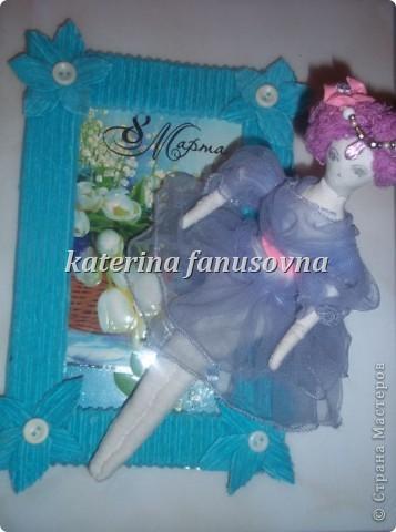 кукла в рамочке фото 2