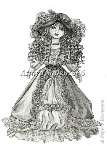 Принцесса (фарфоровая кукла)