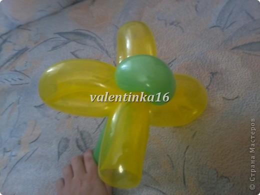 Мастер-класс Твистинг Цветы из шаров + МК Шарики воздушные фото 15