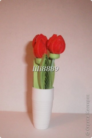С 8 Марта (тюльпаны)
