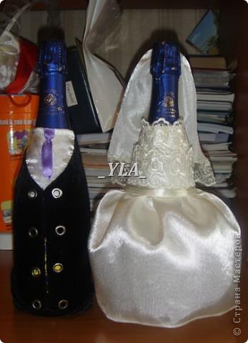 А вот и жених с невестой к свадебному набору для сестренки. Только шляпка у жениха куда-то делась(