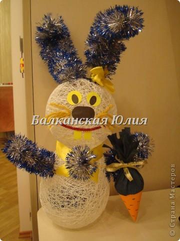 Новогодний заяц. фото 1