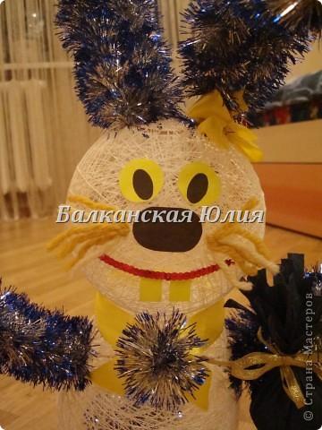 Новогодний заяц. фото 2