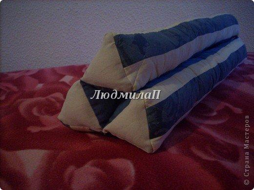 А это моя Тайская подушка.Заготовки.Уже три  из них-соединила. фото 3