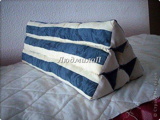 А это моя Тайская подушка.Заготовки.Уже три  из них-соединила. фото 7