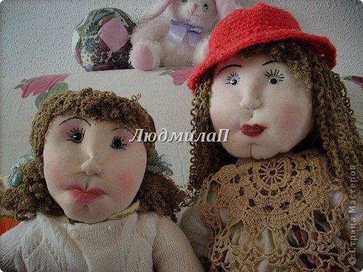 Как сшить быстро куколку?Я сшила ползунки и кофточку вместе. фото 7