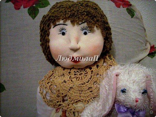 Как сшить быстро куколку?Я сшила ползунки и кофточку вместе. фото 5