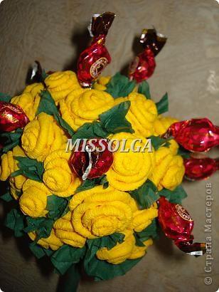 конфеты и розы фото 1