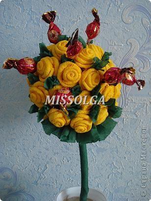 конфеты и розы фото 2
