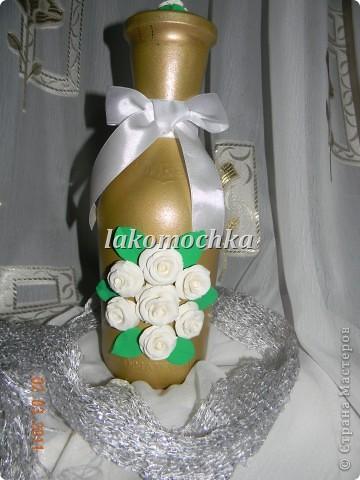 Вот такую сделала бутылочку на заказ. фото 1