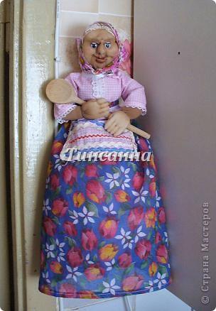 Моя первая кукла.