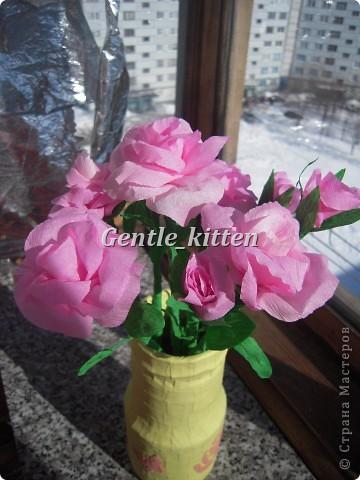 Вот такие цветочки получились)) фото 1
