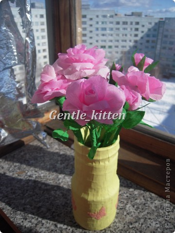 Вот такие цветочки получились)) фото 2